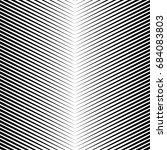black diagonal sharp lines... | Shutterstock .eps vector #684083803