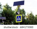 photograph of a traffic light... | Shutterstock . vector #684173383