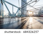 tianjin downtown cityscape seen ... | Shutterstock . vector #684326257