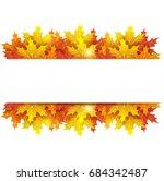 autumn background | Shutterstock . vector #684342487
