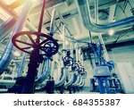 industrial zone  steel... | Shutterstock . vector #684355387