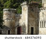 Small Stone Castle With Towers...
