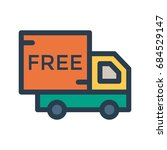 free delivery    Shutterstock .eps vector #684529147
