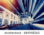 industrial zone  steel... | Shutterstock . vector #684548263