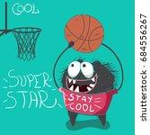 cute little monster super star...