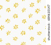 abstract pattern with stars... | Shutterstock .eps vector #684610147