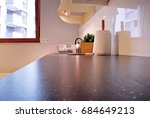 interior of kitchen | Shutterstock . vector #684649213