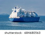 liquefied natural gas  lng ... | Shutterstock . vector #684680563