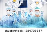 surgery  medicine and people... | Shutterstock . vector #684709957