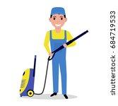 vector illustration of a... | Shutterstock .eps vector #684719533