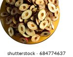 processed gods crown fruit cut... | Shutterstock . vector #684774637