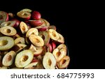 processed gods crown fruit cut... | Shutterstock . vector #684775993
