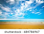 sand on beach  | Shutterstock . vector #684786967