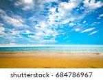sand on beach  | Shutterstock . vector #684786967