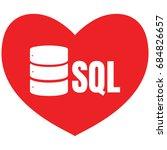 sql database icon logo design...