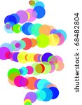 circles of different colors... | Shutterstock . vector #68482804