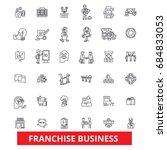 franchise  network  opportunity ...   Shutterstock .eps vector #684833053