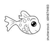 coloring fish  children...