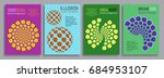 covers illusion templates.... | Shutterstock .eps vector #684953107