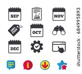 calendar icons. september ...