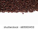 arabica coffee beans | Shutterstock . vector #685003453