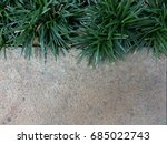 green grass with concrete space | Shutterstock . vector #685022743