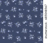 floral seamless pattern of... | Shutterstock .eps vector #685048567