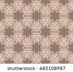 abstract seamless pattern.... | Shutterstock .eps vector #685108987