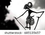 wayang kulit  a traditional... | Shutterstock . vector #685135657