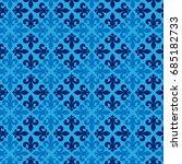 vector illustration blue... | Shutterstock .eps vector #685182733