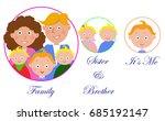 family icons. vector | Shutterstock .eps vector #685192147