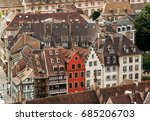 houses of old town of... | Shutterstock . vector #685206703