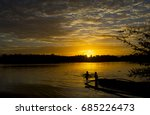 beautiful morning sunrise | Shutterstock . vector #685226473