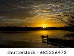 beautiful morning sunrise | Shutterstock . vector #685226473