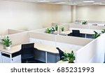 interior of a modern office | Shutterstock . vector #685231993