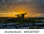 Poulnabrone Dolmen Is One Of...