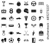 award icons set  simple style | Shutterstock .eps vector #685273237