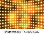 bright flood lights background... | Shutterstock . vector #685296637