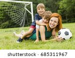 an image of family  mother and... | Shutterstock . vector #685311967