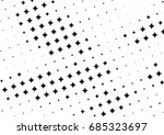 abstract halftone dotted... | Shutterstock .eps vector #685323697