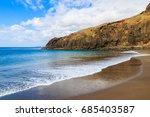 ocean wave on beautiful prainha ... | Shutterstock . vector #685403587