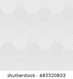 seamless pattern of dots and... | Shutterstock .eps vector #685520833