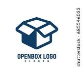 box logo | Shutterstock .eps vector #685546033