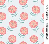 vector seamless pattern with...   Shutterstock .eps vector #685550473