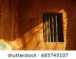 window of rural house | Shutterstock . vector #685745107