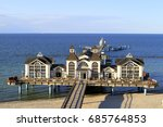 sellin pier  baltic seaside...