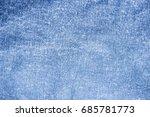 fabric jean texture background. | Shutterstock . vector #685781773