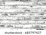 distressed overlay texture of... | Shutterstock .eps vector #685797427