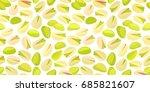 horizontal seamless texture... | Shutterstock .eps vector #685821607