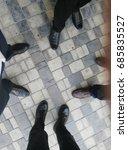 4 businessman foots | Shutterstock . vector #685835527
